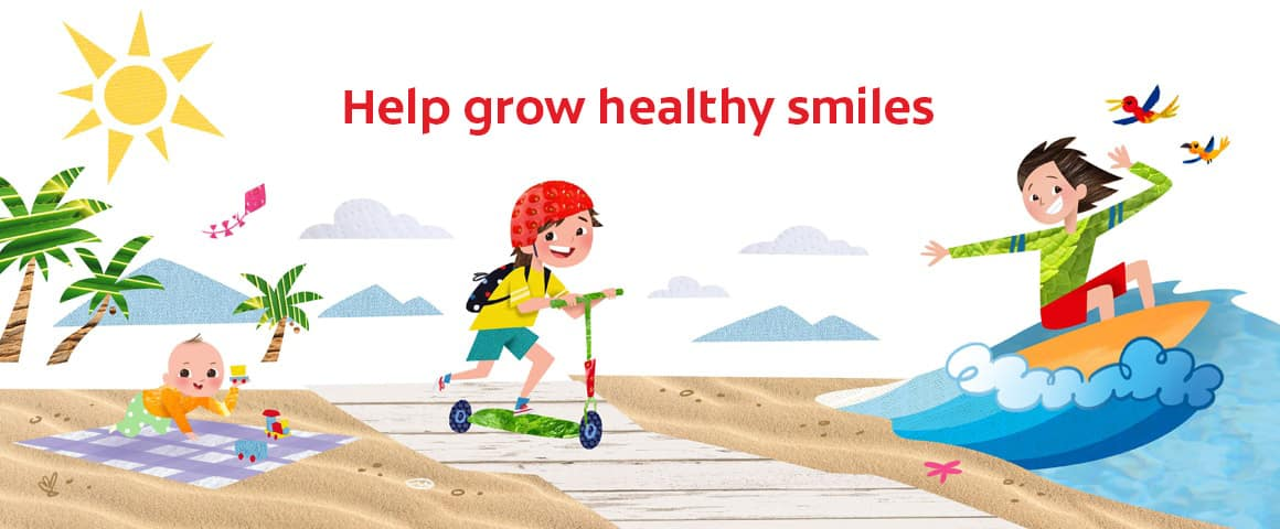Help grow healthy smiles