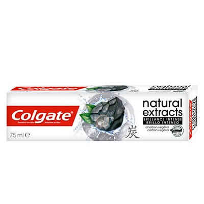 Colgate Natural Extracts Brillo Intenso Carbón Vegetal Pasta Dentífrica