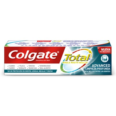 Dentífrico Colgate Total Advanced Limpieza Profunda